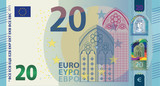 New Euro 20 Vector - 78766515