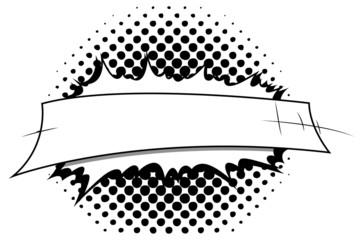 Retro Comic Background Banner Vector