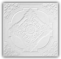 Patterns of the ceiling gypsum sheets
