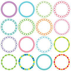 mod circle frames