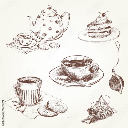 Tea set - 78770393