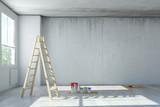 Renovierung von Büro in einem Loft