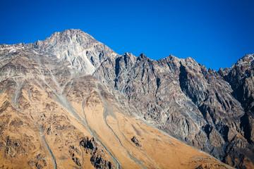Caucasus mountains in Georgia