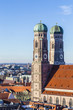 The Frauenkirche is a church in the Bavarian city of Munich - 78773786