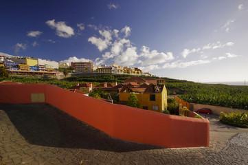 Tazacorte Village, La Palma island, Canary