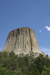 Devil's Tower of Wyoming
