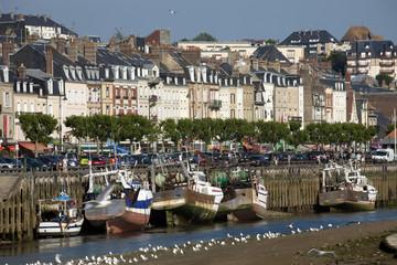 Francia,Normandia,città di Trouville sur Mer