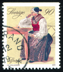 woman and traditional costume
