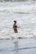 plage et vagues dans le pacifique - Costa Rica