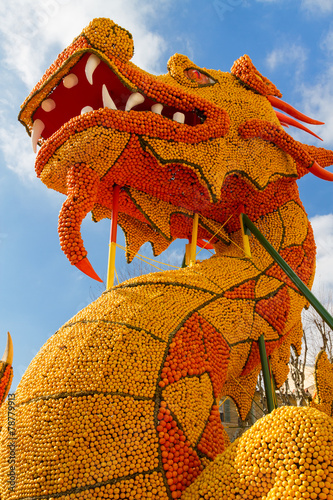 Papiers peints Carnaval Lemon Festival on French Riviera Menton, France Feb 20, 2015