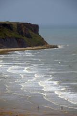 Francia,Normandia,la costa di Arromanches les Bains
