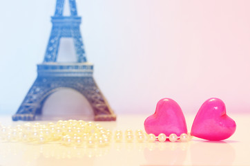 Heart, love and Paris.
