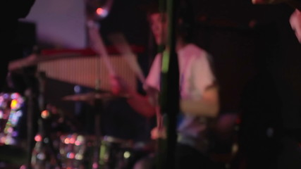 Guitar and drums