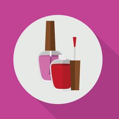 make up design, vector illustration
