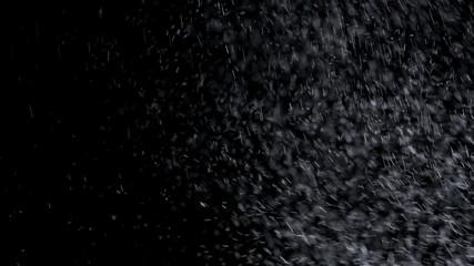 Snow falling background. 4K UHD 2160p footage