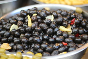 Asortment of olives