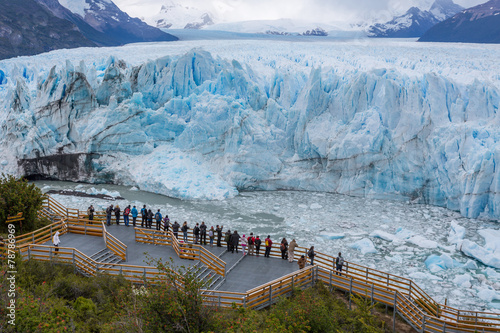 Lodowiec Perito Moreno w Patagonii