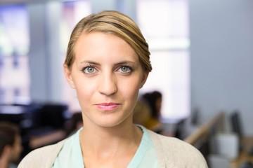 Portrait of confident female teacher