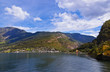 Fjord Naeroyfjord - Norway