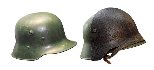 Helmet of the German Army during World War II