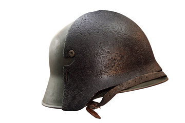 German Army helmet World War II period