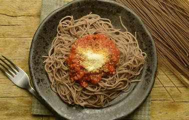 Pasta di grano saraceno integrale bio Buckwheat noodles integral