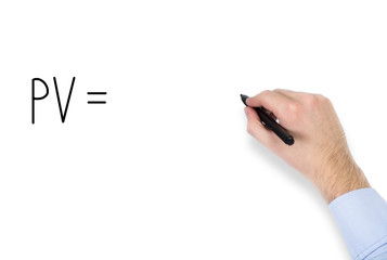 drawing PV calculation