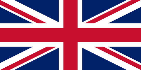 United Kingdom of Great Britain official flag