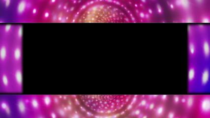 Disco Lights  Door, with Alpha Channel, Loop