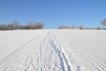 Winter, Ski fahren
