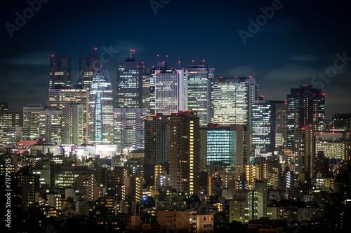 新宿の夜景 - 78795515