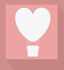 air balloon, desing, vector illustration.