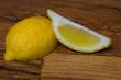 Постер, плакат: Нарезанный лимон