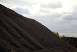 Heaps of coal