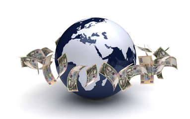 Global Business Ukrainian Hryvnia Currency