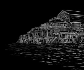 Waterside sketch