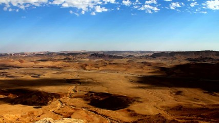 Ramon Crater at Negev Desert in Israel.