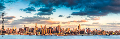 Foto op Plexiglas New York City New York City panorama