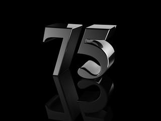 number 75