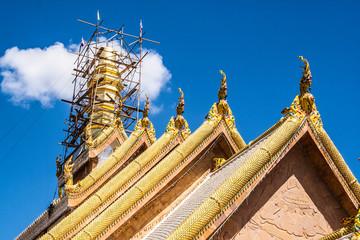 Wat Tai Phra Chao Yai Ong Tue at Ubon Ratchathani, Thailand