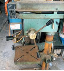 old drilling machine