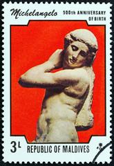 Apollo by Michelangelo (Maldives 1975)