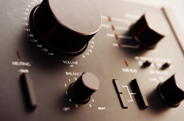 Old transistor amplifier
