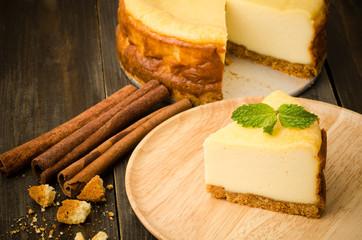 Cheesecake (New York cheesecake)