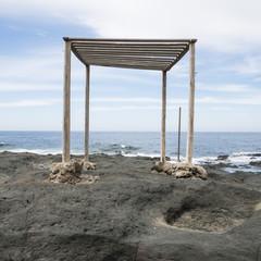 tenda al mare