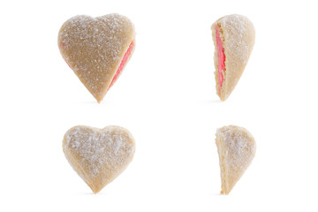cookies in the shape of heart