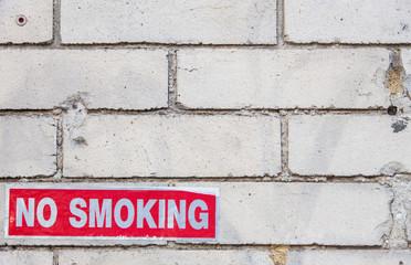 No smoking sign background texture