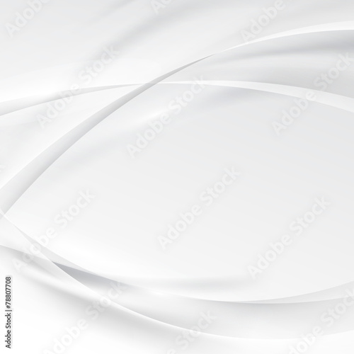 Smooth swoosh abstract modern grey border line background