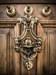 Decorative Brass Door Knocker