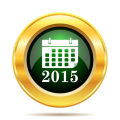 2015 calendar icon